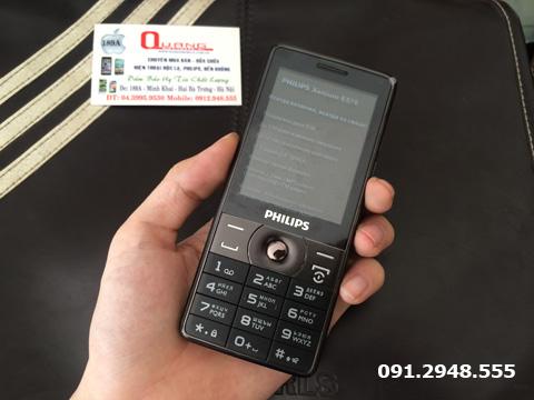 Philips e570 vỏ kim loại pin chờ 6 tháng