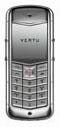 Vertu Constellation Satin Steel Dark Brown Leather